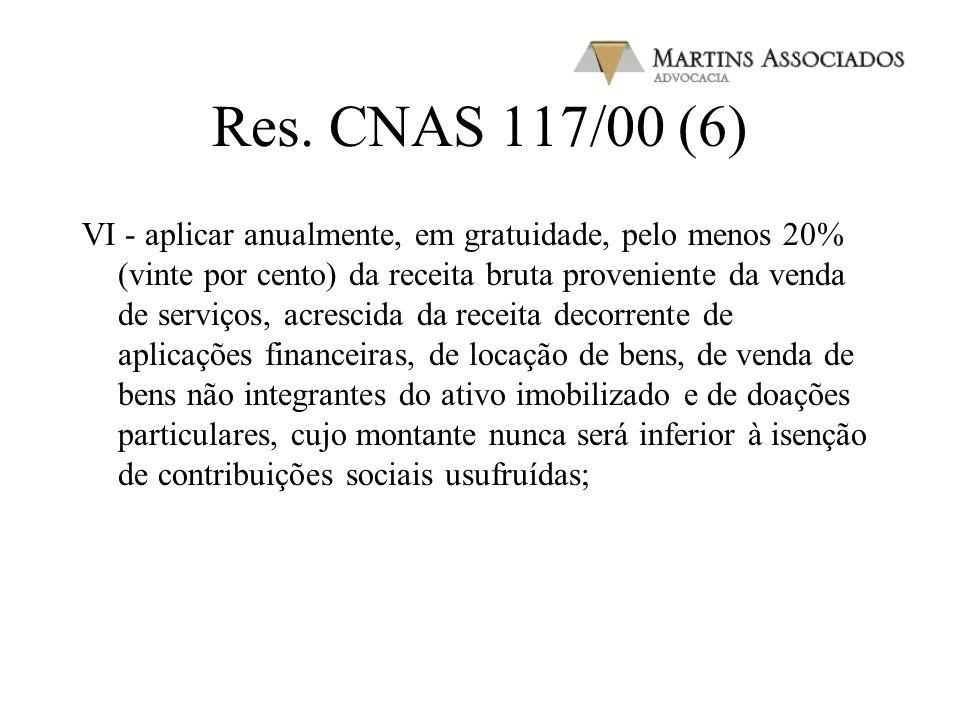 Res. CNAS 117/00 (5) e) destina, em seus atos constitutivos, em caso de dissolução ou extinção, o eventual patrimônio remanescente a entidade congêner