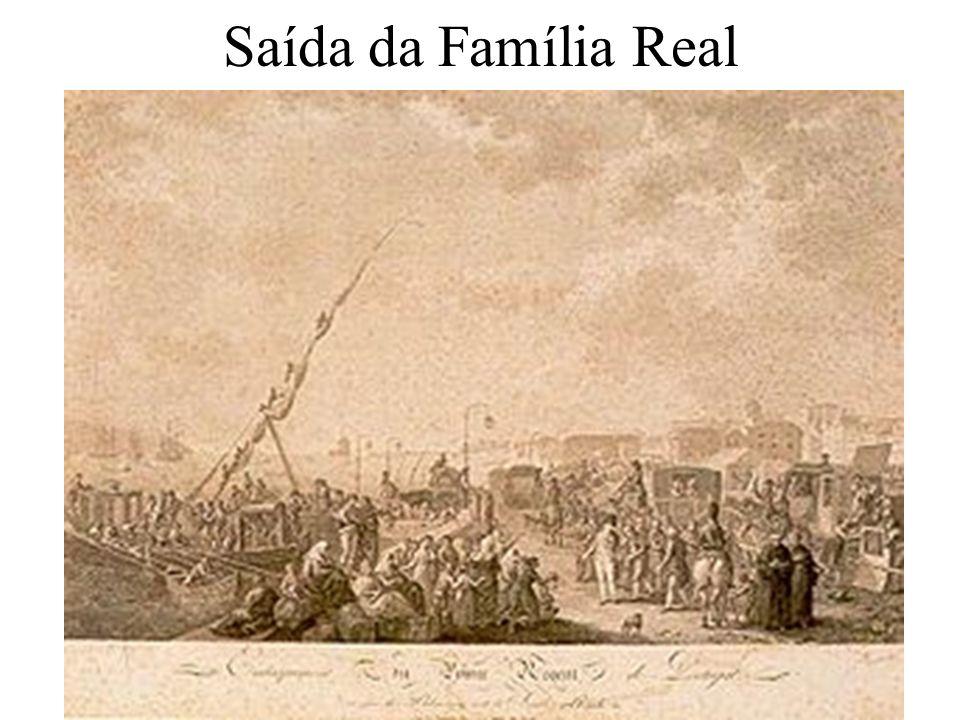 Saída da Família Real