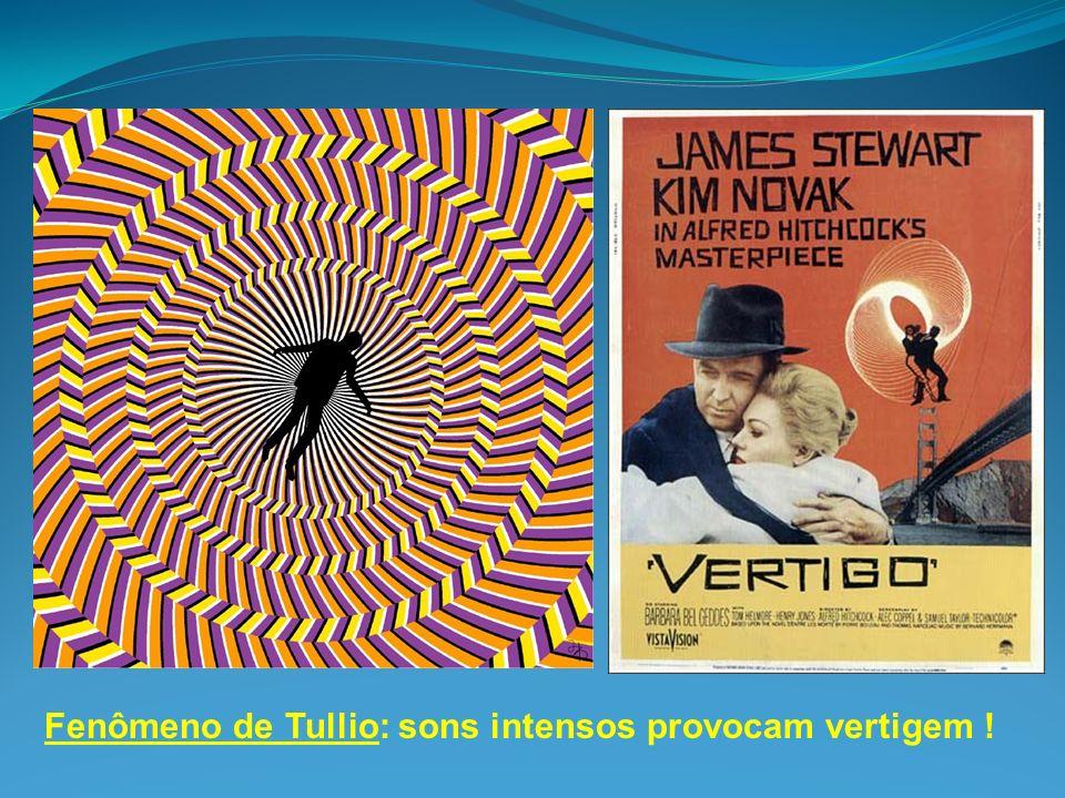Fenômeno de Tullio: sons intensos provocam vertigem !