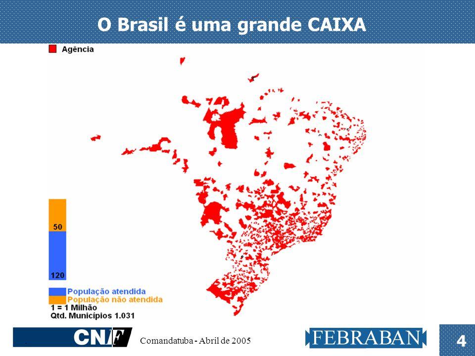 . Comandatuba - Abril de 2005 4 O Brasil é uma grande CAIXA