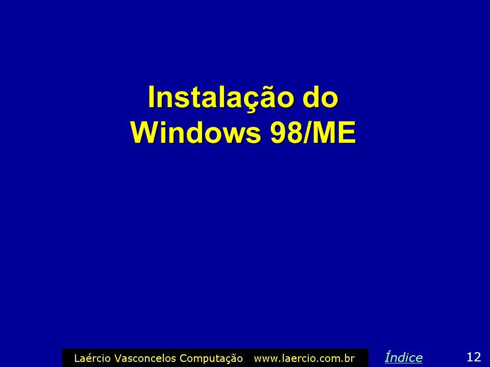 Alguns comandos do MS-DOS CD – Entra em um diretório Exemplos: CD \WINDOWS CD \WIN9X CD \TEST COPY – Copia arquivos Exemplos: COPY F:\WIN9XCopia todos
