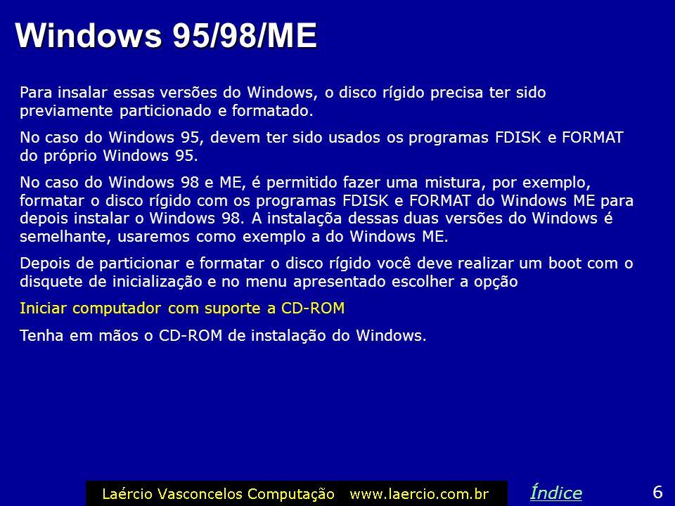 Versões do Windows 5 Índice