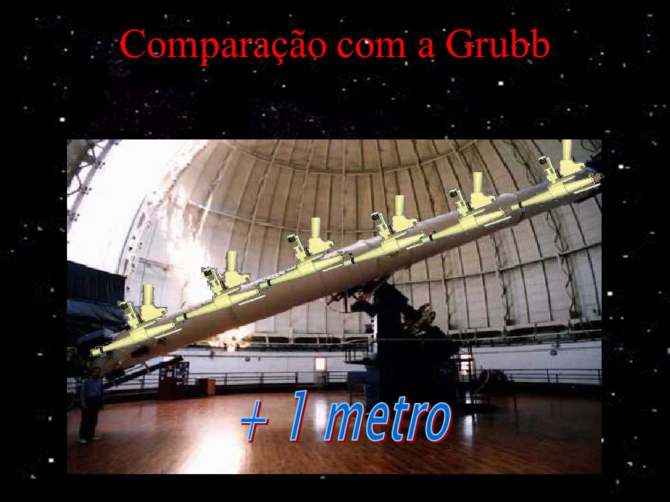 A maior luneta do mundo O piso caiu apenas uma vez, em maio de 1897. A montagem inteira pesa 20 toneladas