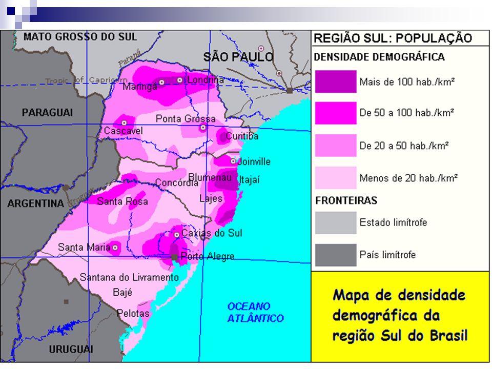 População paranaense: 10.590.169 Principais cidades (tamanho da população – Censo de 2010) Curitiba:1.751.907 Londrina: 506.701 Maringá: 357.077 P.