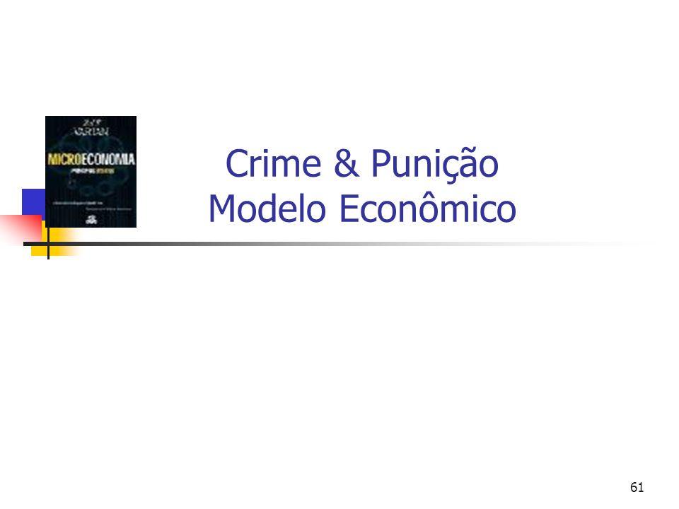 61 Crime & Punição Modelo Econômico