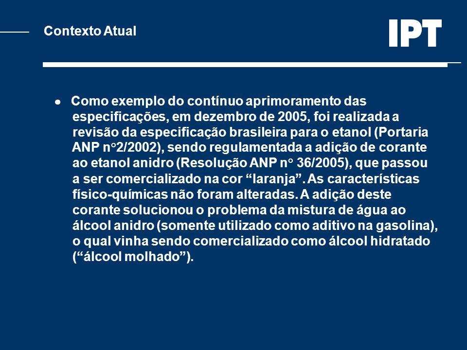 Contexto Atual Como exemplo do contínuo aprimoramento das especificações, em dezembro de 2005, foi realizada a revisão da especificação brasileira par