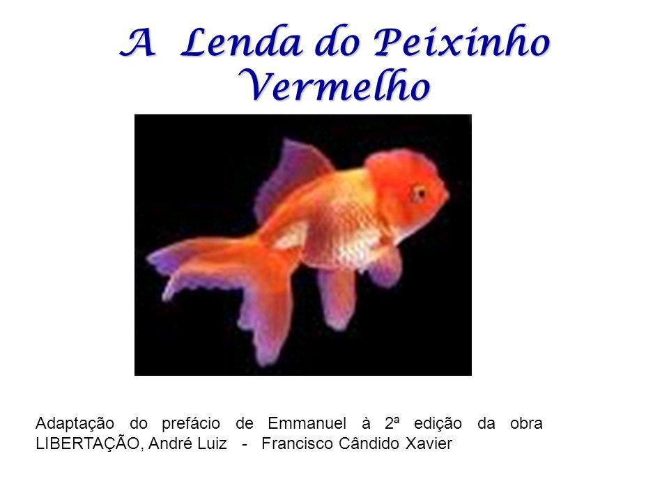 A Lenda do Peixinho Vermelho Adaptação do prefácio de Emmanuel à 2ª edição da obra LIBERTAÇÃO, André Luiz - Francisco Cândido Xavier