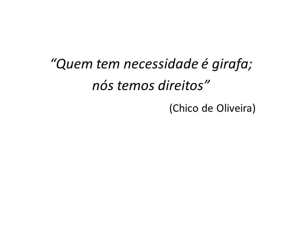 Reflexões Política de caráter não contributivo, isto é, todos os brasileiros terão direito a ela, mesmo os que não contribuem para a previdência social (CF de 1988).