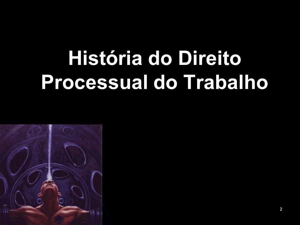 2 História do Direito Processual do Trabalho