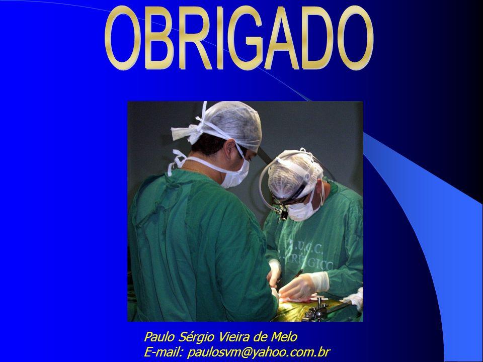Paulo Sérgio Vieira de Melo E-mail: paulosvm@yahoo.com.br