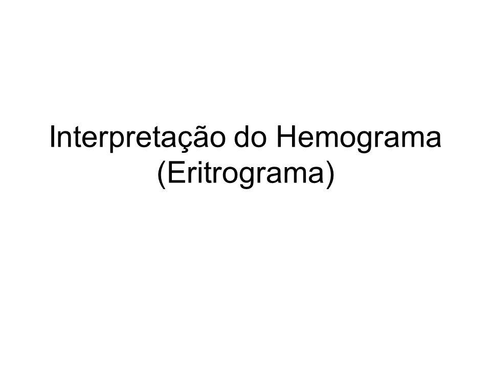 Interpretação do Hemograma (Eritrograma)