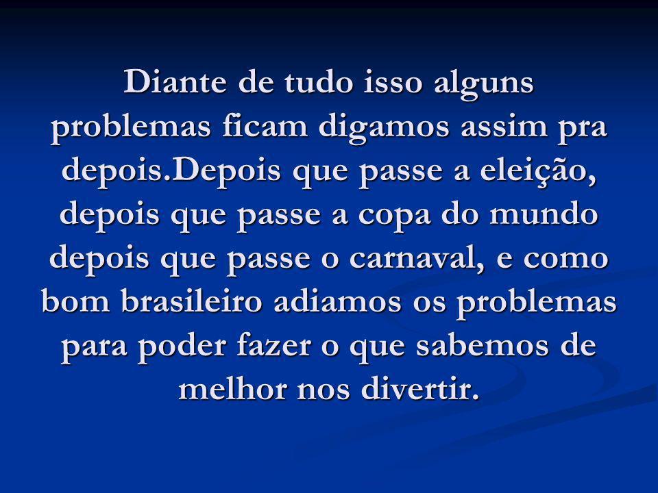 Além da grande dificuldade em se encontrar trabalho assim que sairmos dos bancos da universidade teremos que enfrentar desde já o problema que ronda nossa velhice que é a dificuldade que o Brasil vem encontrando em superar a crise dentro do sistema previdenciário.