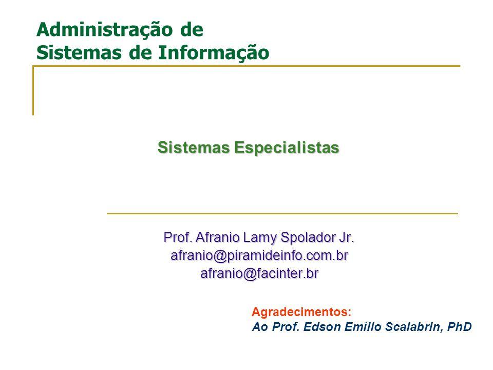 Gestão do Conhecimento Parte III Prof.Afranio Lamy Spolador Jr.