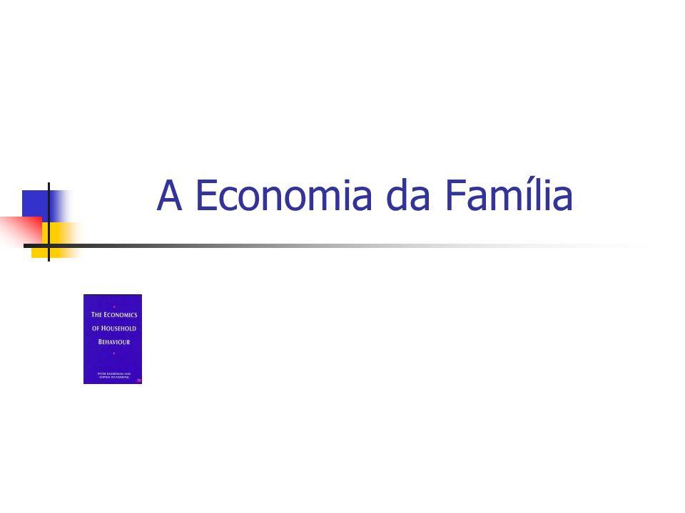 A Economia da Família