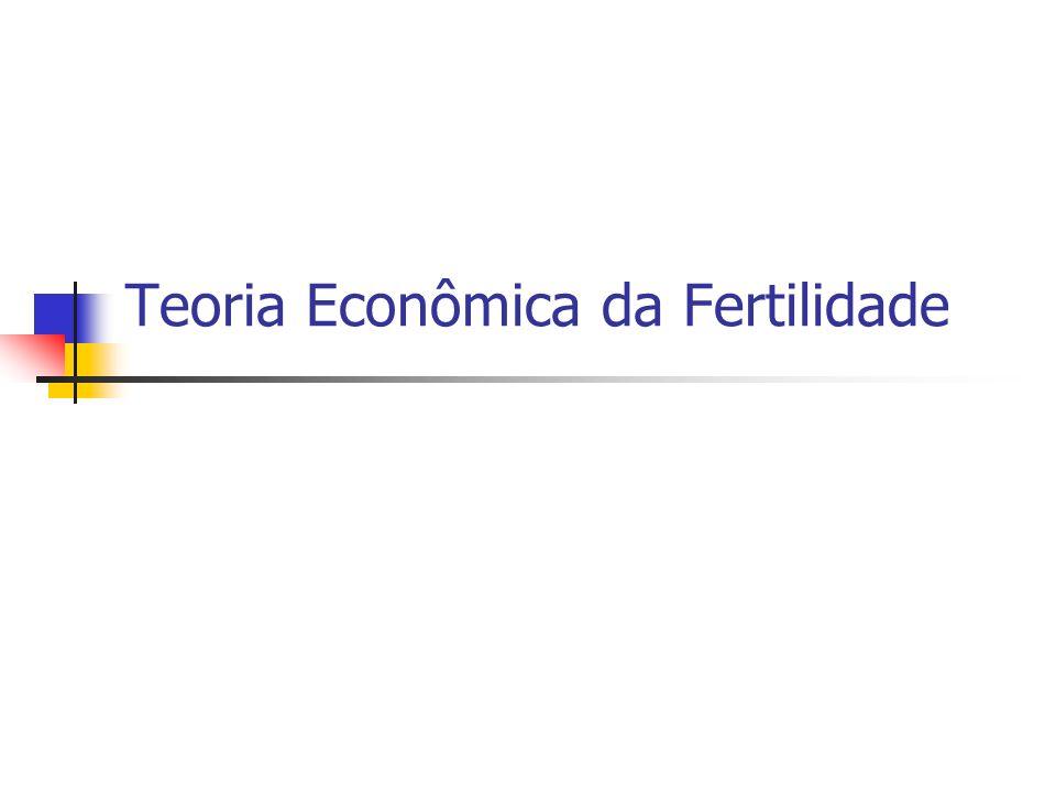 Teoria Econômica da Fertilidade