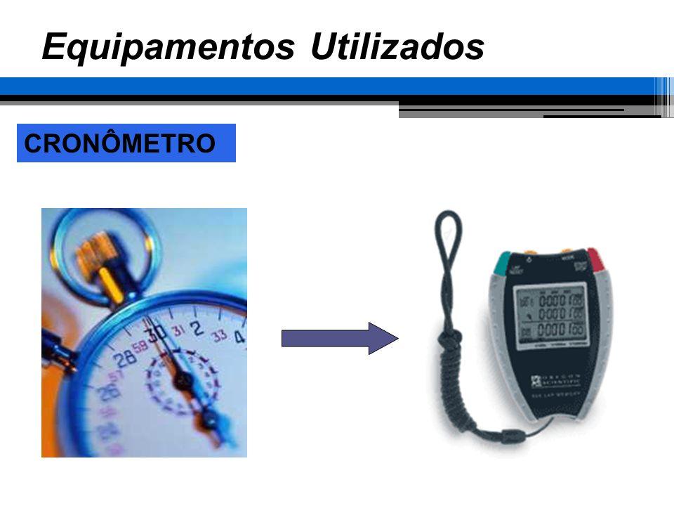 FOLHA DE ESTUDO DE TEMPOS Equipamentos Utilizados