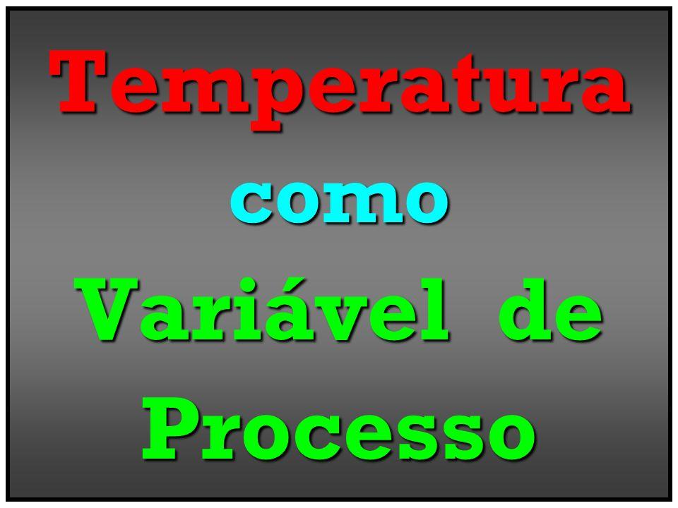 Temperaturacomo Variável de Processo