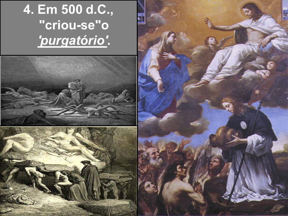 14.Em 1215, cria-se a confissão auricular, ao contrário dos tempos apostólicos que era pública (o que evitava a reincidência do pecado).