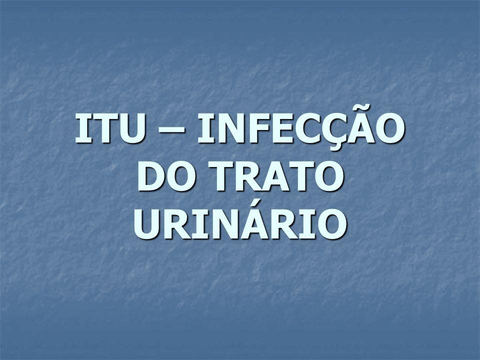 ITU – INFECÇÃO DO TRATO URINÁRIO