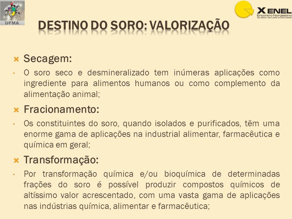 Aproveitamento do soro de queijo na obtenção do extrato hidrossolúvel de soja (Prudencio & Benedet).