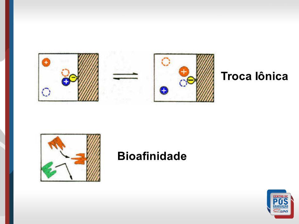 Troca Iônica Bioafinidade