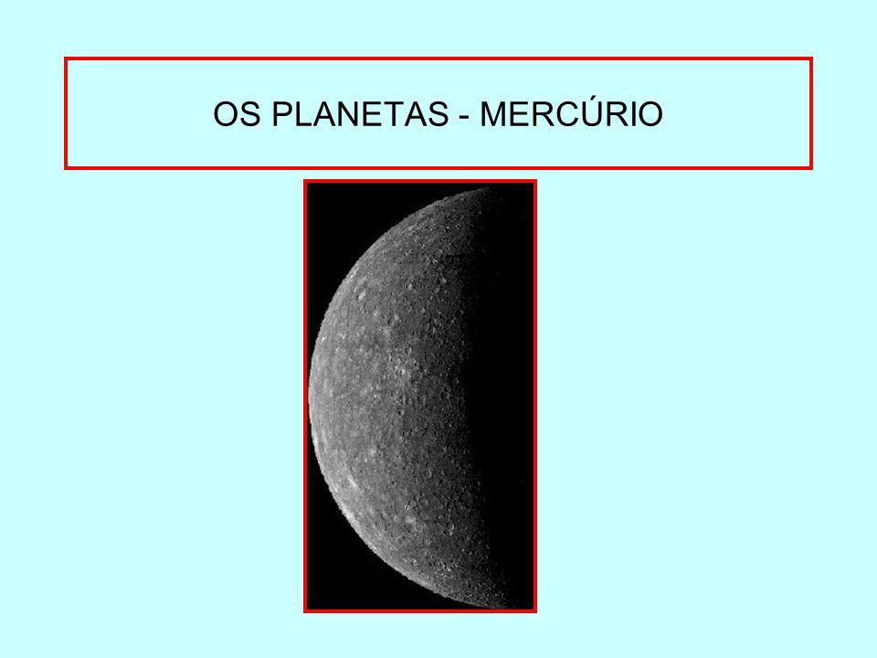 OS PLANETAS - MERCÚRIO