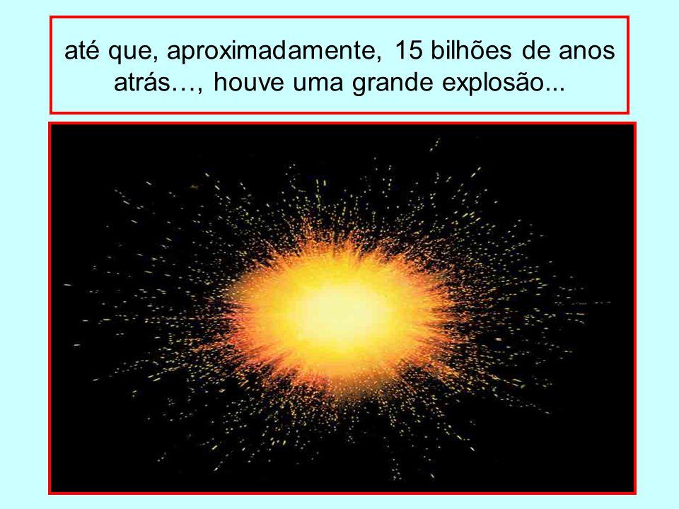 EXPLICAÇÃO CIENTÍFICA PARA A ORIGEM DO UNIVERSO TEORIA DO BIG BANG O Big Bang é o momento da explosão que deu origem ao Universo, entre 12 e 15 bilhões de anos.