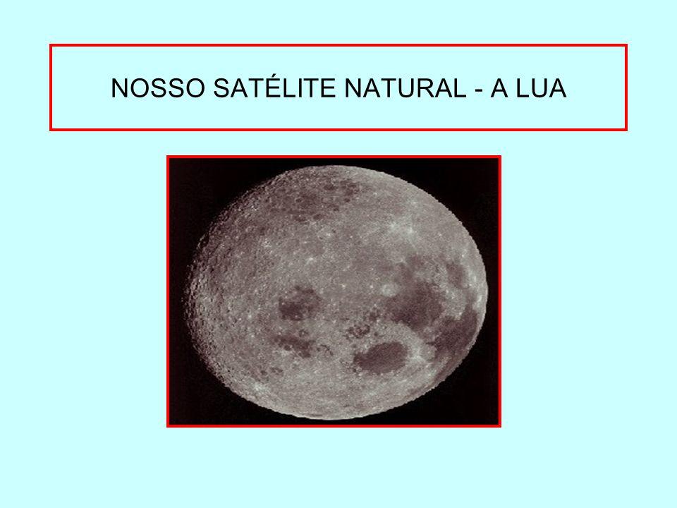 NOSSO SATÉLITE NATURAL - A LUA