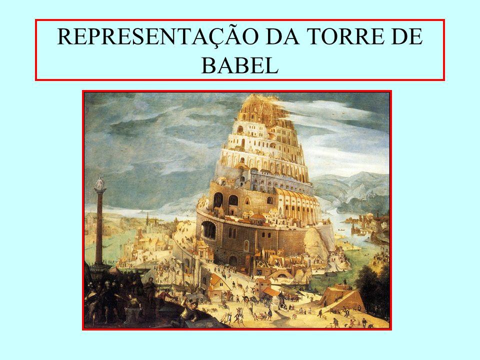 REPRESENTAÇÃO DA TORRE DE BABEL