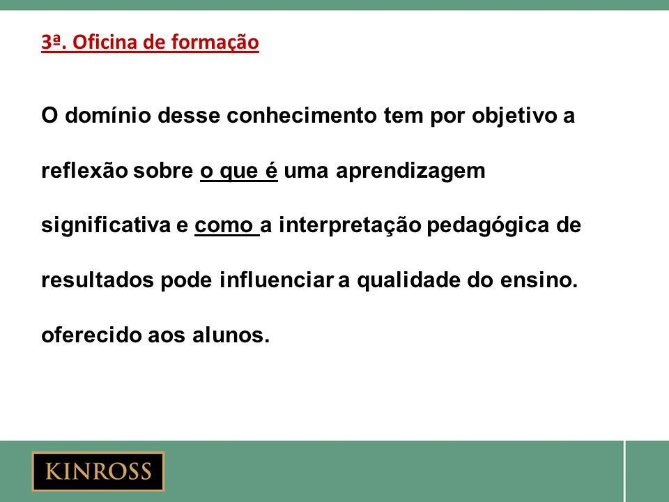 3ª.Oficina de formação Palestrantes Prof. Dr.