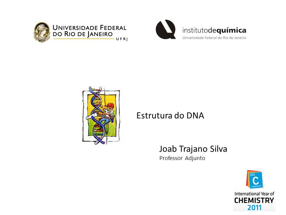 Estrutura do DNA Joab Trajano Silva Professor Adjunto