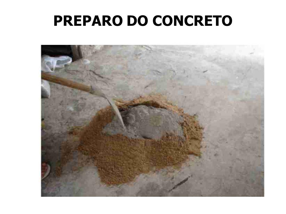 Água PREPARO DO CONCRETO