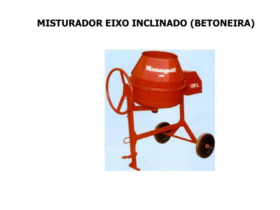 MISTURADOR EIXO INCLINADO (BETONEIRA)