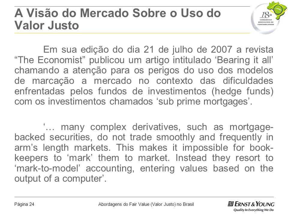 Abordagens do Fair Value (Valor Justo) no BrasilPágina 23 IAS 20 - Contabilização dos Subsídios do Governo e Divulgação de Apoios do Governo Definiçõe