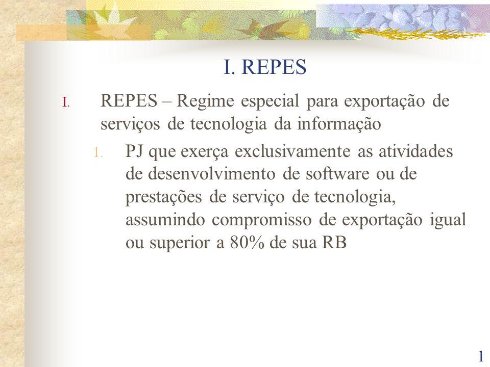 22 IV.PROGRAMA DE INCLUSÃO DIGITAL 1.Ficam reduzidas a zero as alíquotas do PIS/PASEP e COFINS sobre receita bruta de venda a varejo de computadores (até R$ 2.100,00, incluindo mouse e teclado), notebook (até R$ 3.000,00) e estações de trabalho (até R$ 3.000,00) até 31/12/2009; 2.Os produtos atenderão termos e condições estabelecidos em regulamento (Decreto 5.602/05)