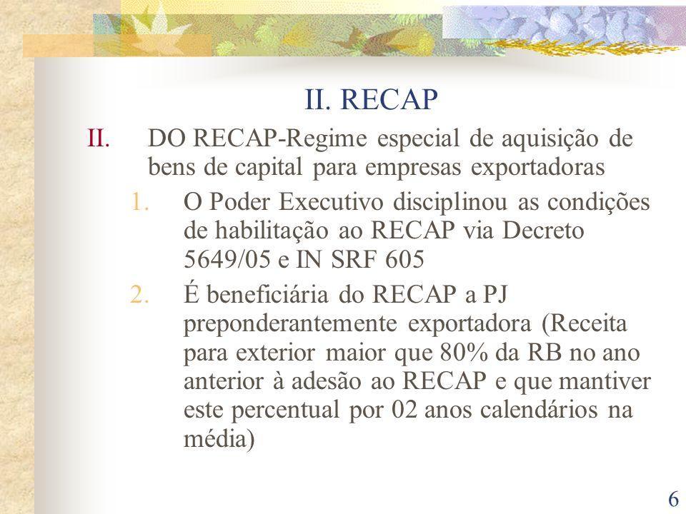 17 III.DOS INCENTIVOS À INOVAÇÃO TECNOLÓGICA 2.