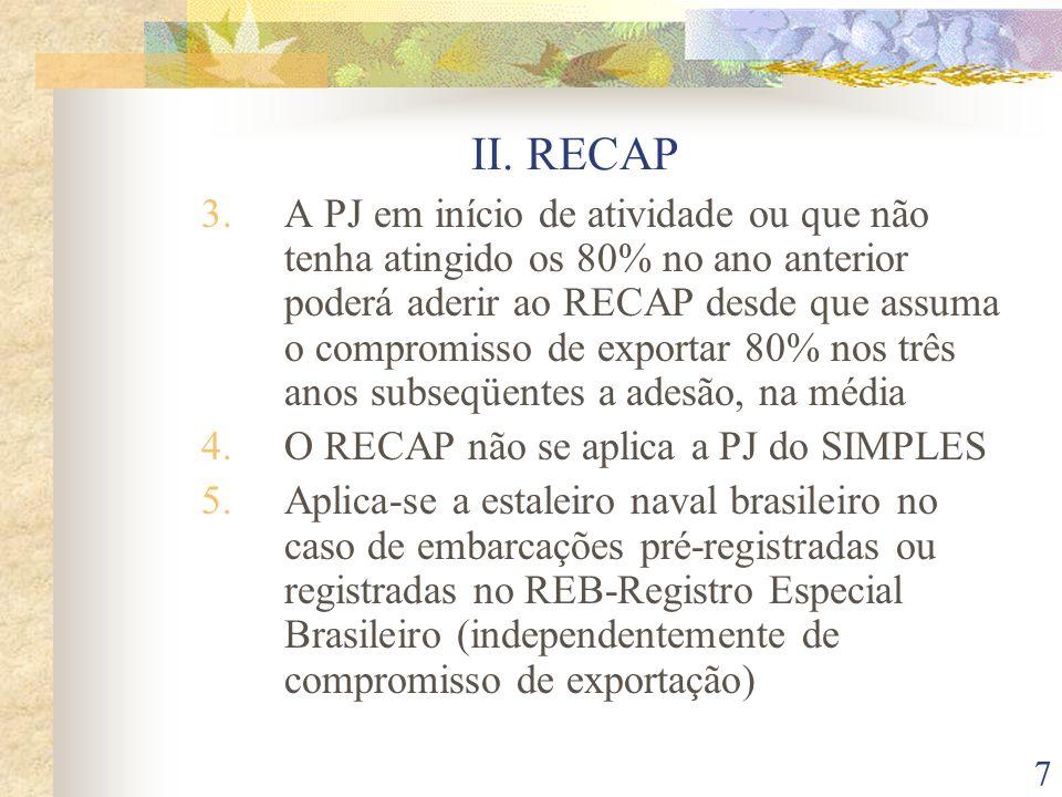 18 III.DOS INCENTIVOS À INOVAÇÃO TECNOLÓGICA 5.