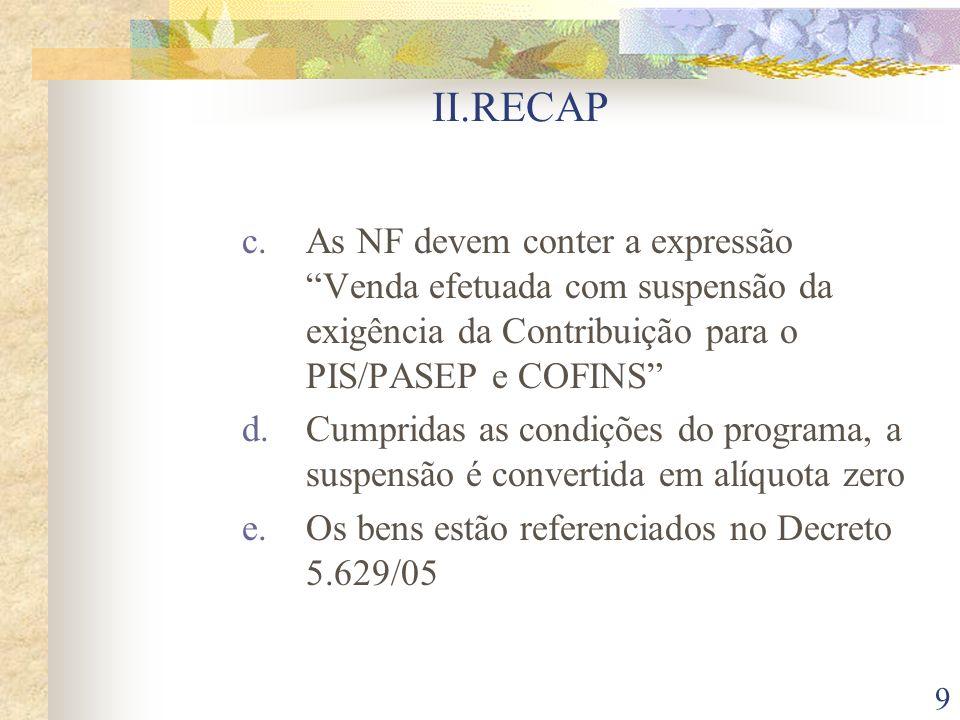 20 III.DOS INCENTIVOS À INOVAÇÃO TECNOLÓGICA 7.