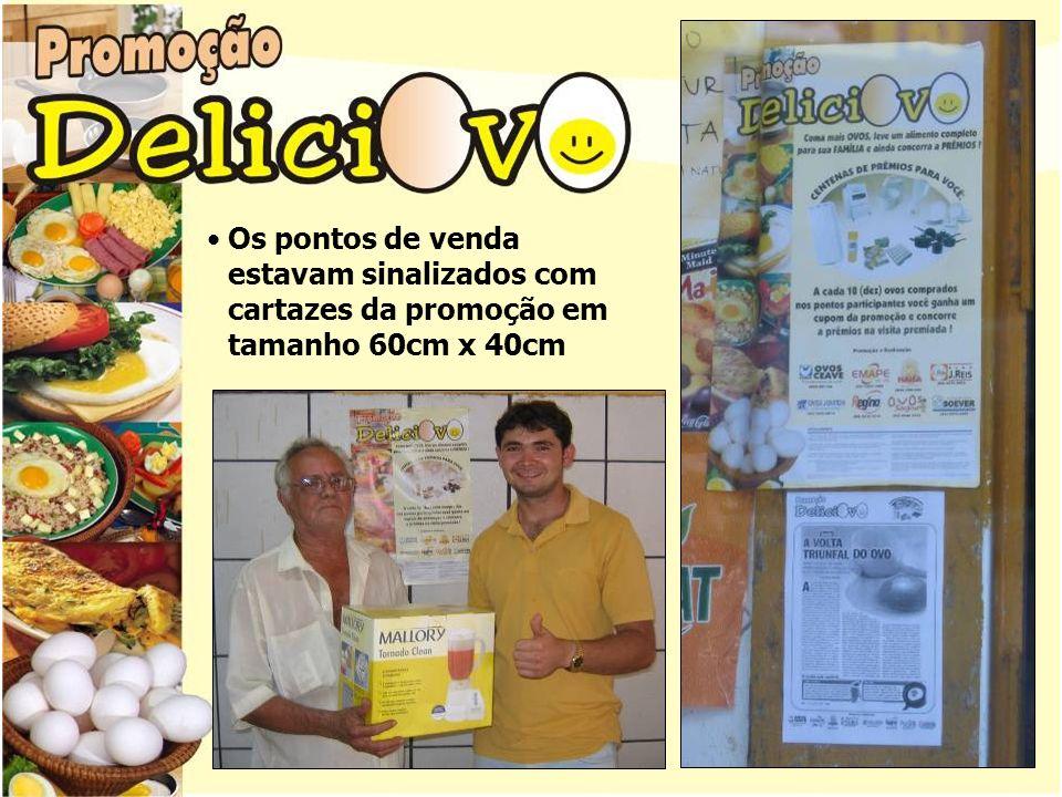 A cada 10 (dez) ovos comprados nos pontos participantes o consumidor recebia um cupom.
