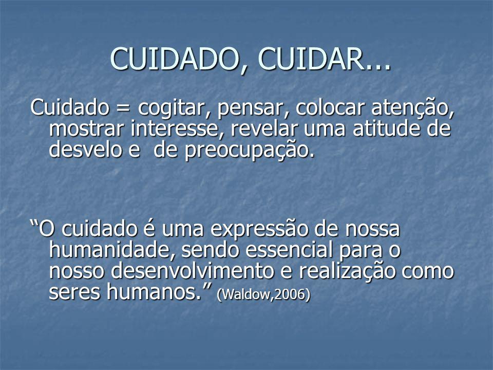 FRAGMENTAÇÃO E ISOLAMENTO X INTEGRAÇÃO E VISÃO SISTÊMICA CUIDADO HUMANIZADO
