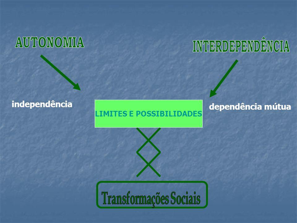 Autonomia e interdependência