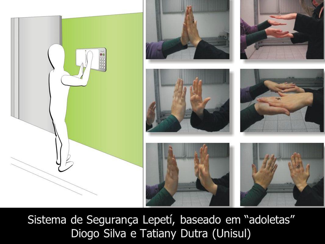 Sistema de Segurança Lepetí, baseado em adoletas Diogo Silva e Tatiany Dutra (Unisul)
