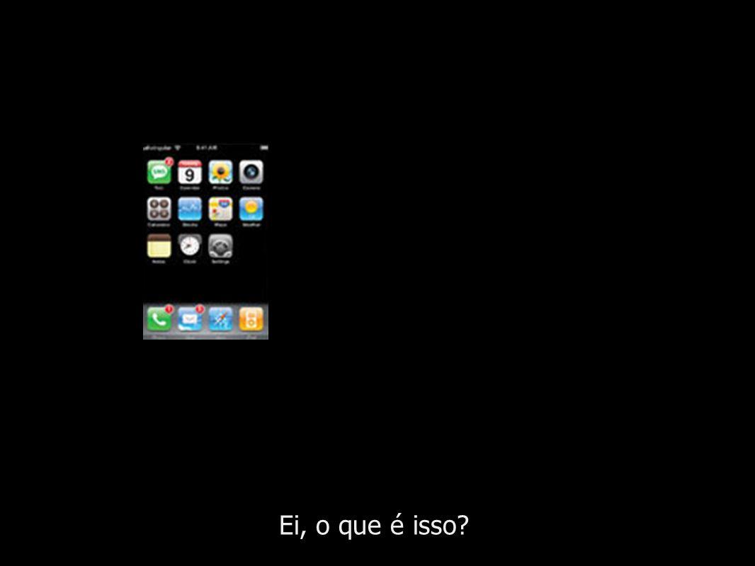 O diferencial do iPhone é a interface