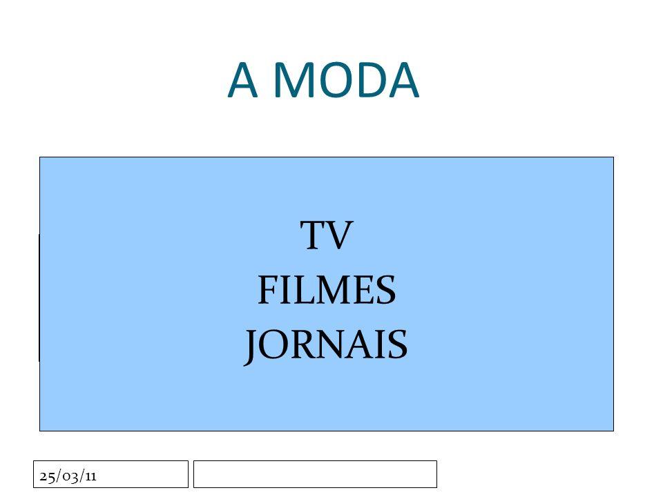 Clique para editar o estilo do subtítulo mestre 25/03/11 A MODA TV FILMES JORNAIS