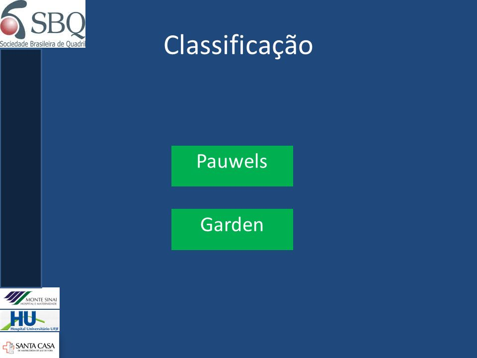 Classificação Pauwels Garden