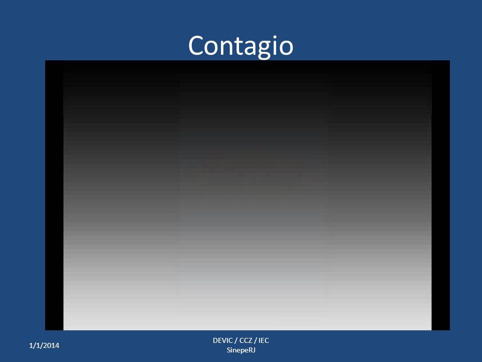 Contagio 1/1/2014 DEVIC / CCZ / IEC SinepeRJ