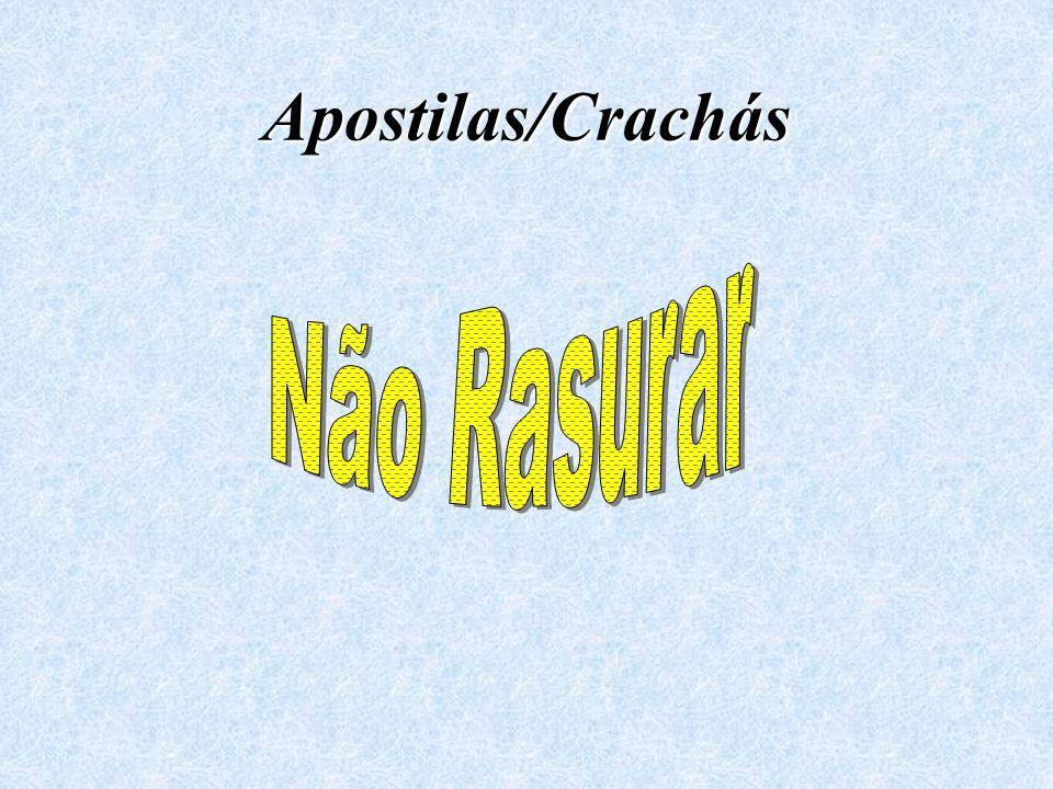 Apostilas/Crachás