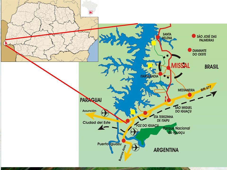DESTAQUES sobre a hidrografia do Paraná Bacia do rio Iguaçu: em 2008, quando o IBGE divulgou o Índice de Desenvolvimento Sustentável (IDS), o Rio Iguaçu apareceu como o segundo mais poluído do Brasil, atrás apenas do Tietê, em São Paulo.