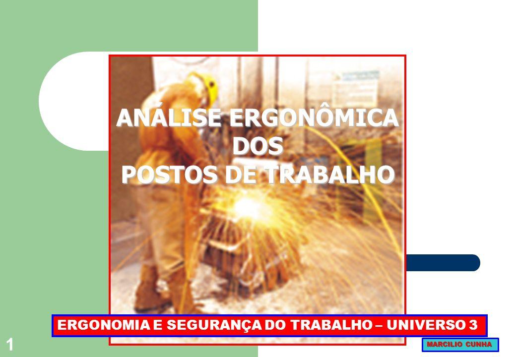 101 3Evidencia as diversas síndromes que caracterizam as patologias ergonômicas da situação de trabalho.