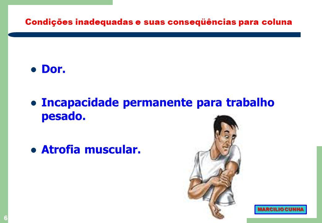 116 ACIDENTES DE TRABALHO: 3 Não se deve restringir o diagnóstico, de uma determinada situação de trabalho, baseando- se somente na análise de um acidente.